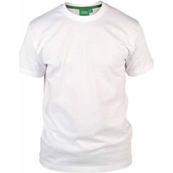 Textiel Heren T-shirts korte mouwen Duke  Wit