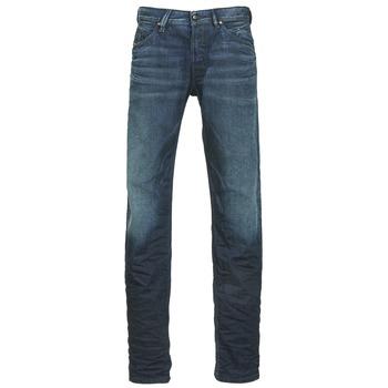 Textiel Heren Straight jeans Diesel BELTHER Blauw
