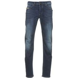 Textiel Heren Straight jeans Diesel BELHER Blauw / Donker