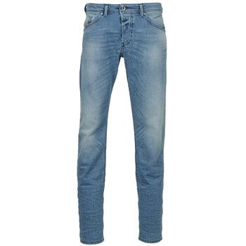 Textiel Heren Straight jeans Diesel BELHER Blauw / Clair