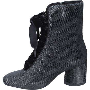 Schoenen Dames Enkellaarzen Elvio Zanon Bottines BM12 Noir