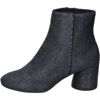 Schoenen Dames Enkellaarzen Elvio Zanon Bottines BM13 Noir