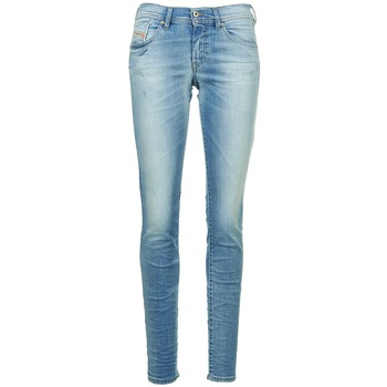 Textiel Dames Skinny jeans Diesel FRANCY Blauw / CLAIR