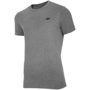 Textiel Heren T-shirts korte mouwen 4F TSM003 Gris