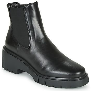 Schoenen Dames Laarzen Unisa JEROME Zwart