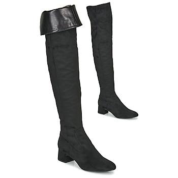 Schoenen Dames Lieslaarzen Unisa LUKAS Zwart