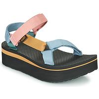 Schoenen Dames Sandalen / Open schoenen Teva FLATFORM UNIVERSAL Multicolour