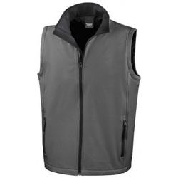 Textiel Heren Vesten / Cardigans Result Softshell Houtskool / Zwart