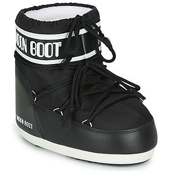 Schoenen Dames Snowboots Moon Boot MOON BOOT CLASSIC LOW 2 Zwart