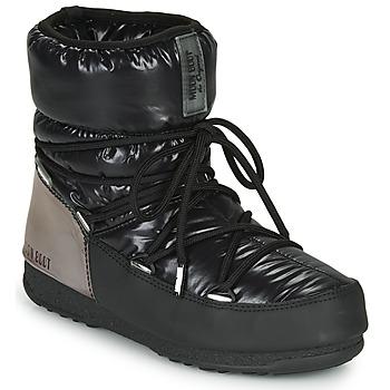 Schoenen Dames Snowboots Moon Boot MOON BOOT LOW ASPEN WP Zwart