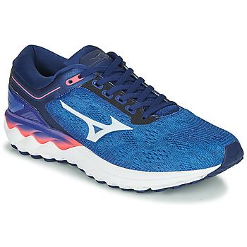 Schoenen Heren Running / trail Mizuno WAVE SKY RISE Blauw
