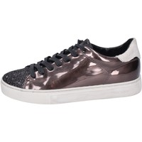 Schoenen Dames Lage sneakers Crime London Baskets BM102 Marron