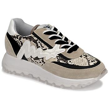 Schoenen Dames Hoge sneakers Meline TRO1700 Beige / Python
