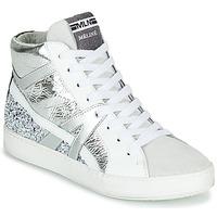 Schoenen Dames Hoge sneakers Meline IN1363 Wit / Zilver
