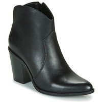 Schoenen Dames Enkellaarzen MTNG 50187-C50074 Zwart