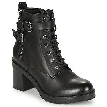 Schoenen Dames Enkellaarzen MTNG 58674-C50055 Zwart