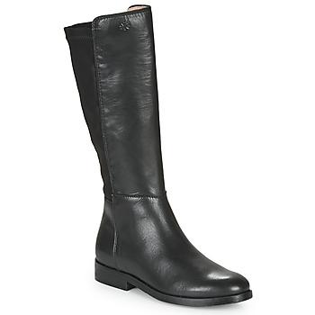 Schoenen Meisjes Hoge laarzen Acebo's 9864-NEGRO-T Zwart