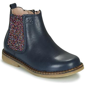 Schoenen Meisjes Laarzen Acebo's 5274-MARINO-J Marine