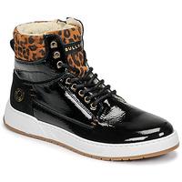 Schoenen Meisjes Hoge sneakers Bullboxer AOF503E6L-BLCK Zwart