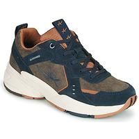 Schoenen Dames Lage sneakers Allrounder by Mephisto DEVINA Kaki / Marine