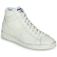 Schoenen Hoge sneakers Diadora GAME L HIGH WAXED Wit