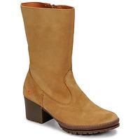 Schoenen Dames Hoge laarzen Art CAMDEN Brown