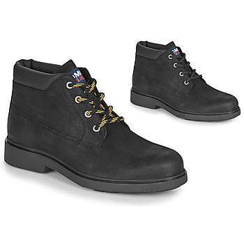 Schoenen Heren Laarzen Tommy Jeans LOW CUT TOMMY JEANS BOOT Zwart