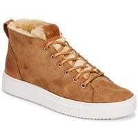 Schoenen Dames Hoge sneakers Blackstone QL48 Brown