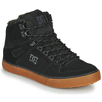 Schoenen Heren Hoge sneakers DC Shoes PURE HT WC WNT M Zwart