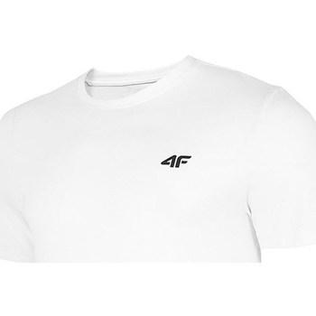 Textiel Heren T-shirts korte mouwen 4F TSM003 Blanc