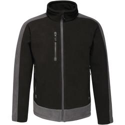 Textiel Heren Fleece Regatta RG662 Zwart/Seal