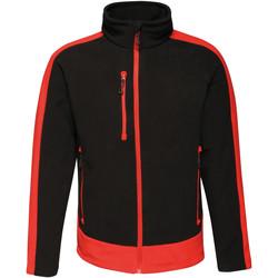 Textiel Heren Fleece Regatta RG662 Zwart/Klassiek Rood