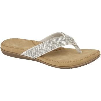 Schoenen Dames Slippers Cipriata  Zilver