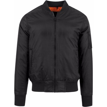 Textiel Heren Wind jackets Build Your Brand BY030 Zwart