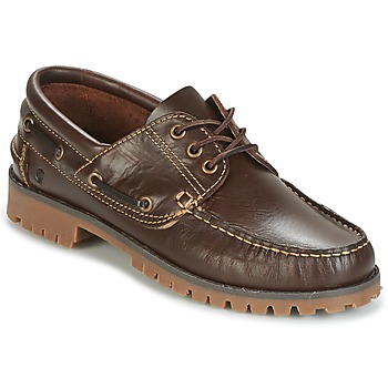 Schoenen Heren Bootschoenen Casual Attitude EVEROA Brown