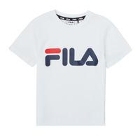 Textiel Kinderen T-shirts korte mouwen Fila LEA Wit