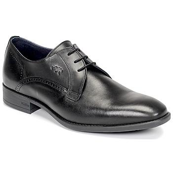 Schoenen Heren Derby Fluchos LUKE Zwart