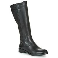 Schoenen Dames Hoge laarzen Dorking TIERRA Zwart