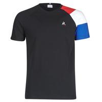 Textiel Heren T-shirts korte mouwen Le Coq Sportif ESS TEE SS N°10 M Zwart