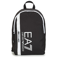 Tassen Heren Rugzakken Emporio Armani EA7 TRAIN CORE U BACKPACK B Zwart / Wit