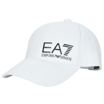 Accessoires Heren Pet Emporio Armani EA7 TRAIN CORE ID M LOGO CAP Wit