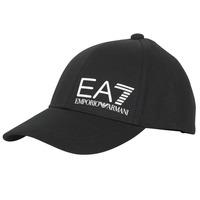 Accessoires Heren Pet Emporio Armani EA7 TRAIN CORE ID M LOGO CAP Zwart