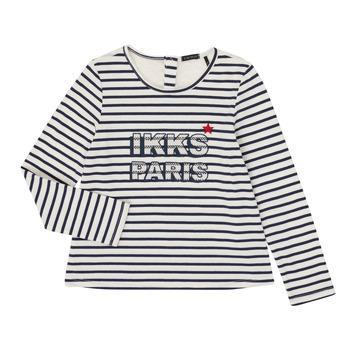 Textiel Meisjes T-shirts met lange mouwen Ikks XR10052 Wit
