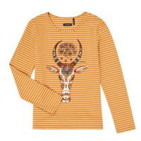 Textiel Meisjes T-shirts met lange mouwen Ikks XR10102 Brown