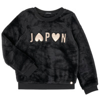 Textiel Meisjes Sweaters / Sweatshirts Ikks XR15042 Zwart