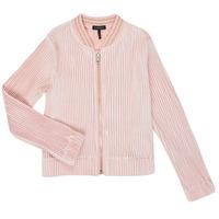 Textiel Meisjes Vesten / Cardigans Ikks XR17022 Roze