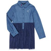 Textiel Meisjes Korte jurken Ikks XR30122 Blauw