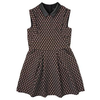 Textiel Meisjes Korte jurken Ikks XR30212 Zwart