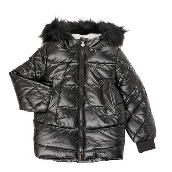 Textiel Meisjes Parka jassen Ikks XR41122 Zwart