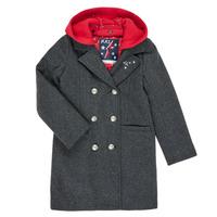 Textiel Meisjes Mantel jassen Ikks XR44012 Grijs